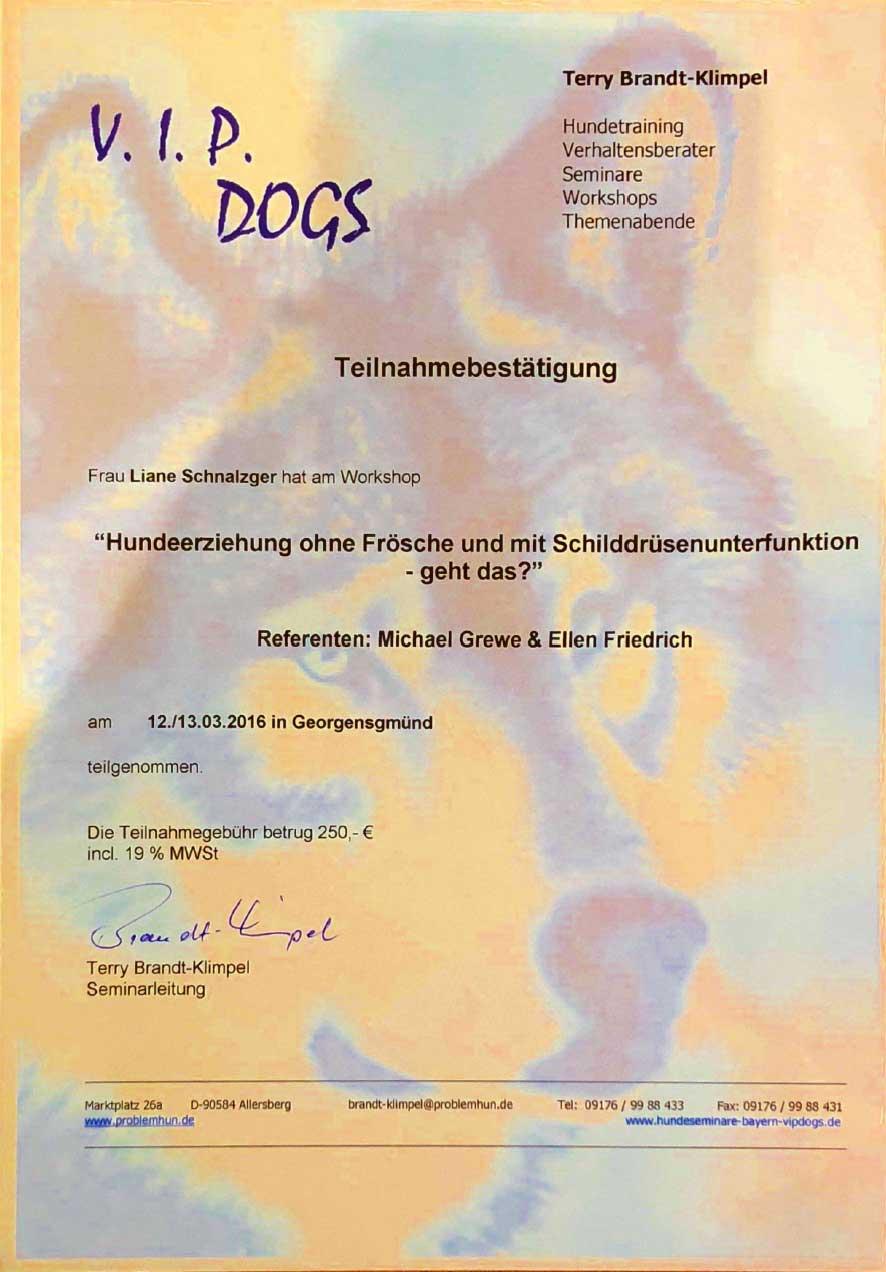 Referenzen_Hundeerziehung-ohne-Frösche-und-mit-Schilddrüsenunterfunktion